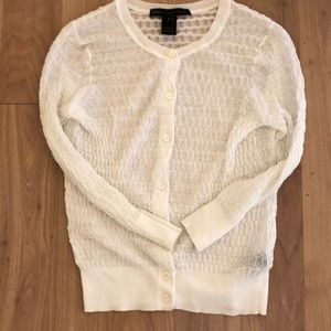 Marc by Marc Jacobs cotton and nylon cardigan
